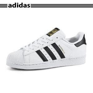 正品直邮Adidas/阿迪达斯三叶草男鞋女鞋金标贝壳头Superstar Foundation C77124 C77153