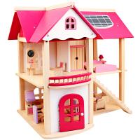3-6-7-10岁儿童女童仿真过家家玩具公主娃娃屋房子小女孩生日礼物