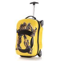 儿童行李箱男儿童玩具初中拉杆箱行李小孩子可坐万向轮年级宝宝可拆卸女童过家家可坐卡 黄色