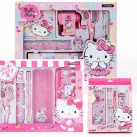 HelloKitty小学生文具礼盒KT猫套装女生儿童小礼物生日学习用品
