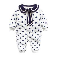 婴儿连体衣服冬季新生儿满月宝宝0岁3个月2季1冬装装睡衣