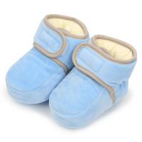 儿童户外加绒保暖鞋子男女童厚棉鞋宝宝鞋婴幼儿不掉棉鞋脚套