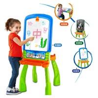 VTech伟易达4合1电子画板 小黑板儿童支架式双面板写字板玩具