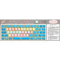 五笔字型键盘卡(86/98版通用)