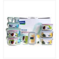 三光云彩/Glasslock 玻璃饭盒微波炉专用保鲜盒便当盒礼盒装 12件套装礼品GL80