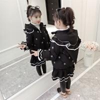 中长款韩版中大童冬季棉袄儿童冬装加厚羽绒女童棉衣