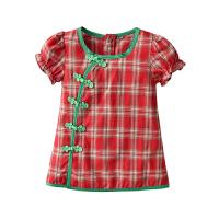 宝宝旗袍夏季薄款中国风女童连衣裙儿童唐装婴儿夏装