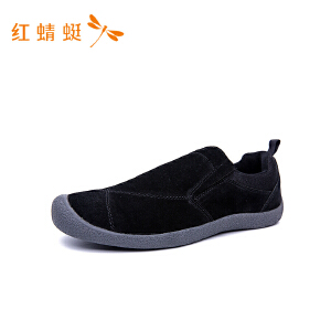 红蜻蜓新款潮流休闲单鞋男