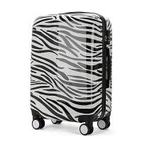 时尚拉杆箱万向轮行李箱16寸旅行箱20寸男女旅游箱新款WY 斑马纹 单箱