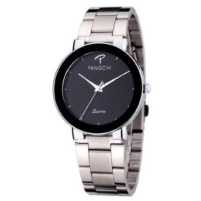 学生手表男表钢带超薄男女款简约个性表盘防水石英表