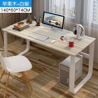 简易电脑桌台式家用卧室学生写字桌双人简约办公桌经济型桌子