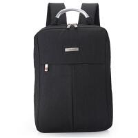 男女士电脑包双肩包韩版休闲手提笔记本包14寸15.6hp学生背包书包 1908黑色 14寸