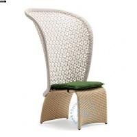 户外阳台休闲桌椅藤椅组合创意现代简约阳台欧式腾椅子三件套茶几