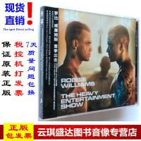 现货 正版 罗比・威廉姆斯:重拳出击 Robbie Williams CD