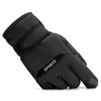 户外棉手套男士骑车保暖加厚加绒防风防寒防滑摩托车男滑雪手套