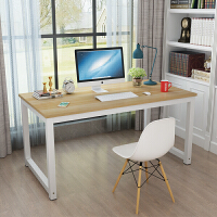 简易电脑桌家用写字台简约职员办公桌经济型培训桌双人桌定制 长180*宽80*高74