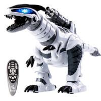 儿童恐龙遥控玩具智能电动战龙霸王龙机器人抖音玩具男孩3-4-6岁