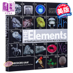 【中商原版】元素:宇宙已知原子的视觉探索 英文原版书籍 The Elements Nick Mann Theodore
