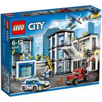 【当当自营】乐高(LEGO)积木 城市组City 玩具礼物6-12岁 警察总局 60141