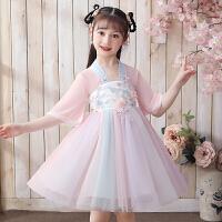 女童汉服连衣裙夏季儿童装公主裙夏款夏装小女孩裙子
