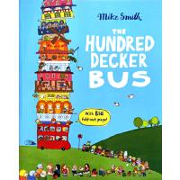 100层的巴士 英文原版 The Hundred Decker Bus(内附超大拉页) Mike Smith