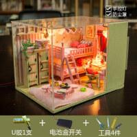 生日礼物女生送女友男生老婆情人节diy创意礼品特别新奇玩具毕业 创意de礼物,双层床系列、
