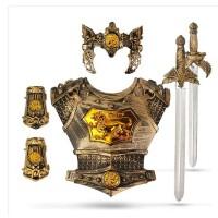 儿童玩具剑刀塑料宝剑男孩剑客盾牌武器学生安全仿真宝剑模型兵器