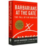 正版现货 门口的野蛮人 英文原版 Barbarians at the Gate 华尔街商战纪实 美国商学院教材 进口英