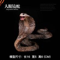 蟒蛇 响尾蛇 眼镜蛇 草蛇整蛊模型 儿童仿真实心野生动物玩具整蛊模型