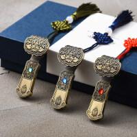 中国风精美复古典青铜如意64gu盘创意公司商务礼品定制印logo刻字