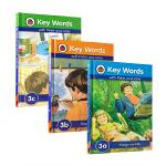 Key Words 3a3b3c 3本套装 适合5-6岁入门者 英语学习与儿童成长故事融合3a Things we l
