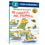 顺丰发货 进口英文原版 Step Into Reading Level 2 Richard Scarry's Be C