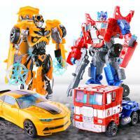 �和�玩具�模型男孩子警小汽�男童�形玩具�C器人