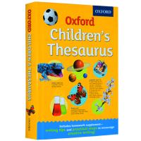 牛津小学同义词字典 英文原版 Oxford Children's Thesaurus 牛津英英字典词典 全英文版写作工具