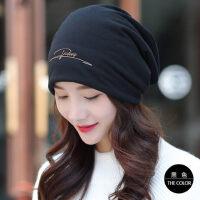 帽子女韩版潮孕妇产后包头月子帽休闲百搭套头帽化疗帽头巾帽