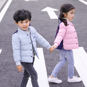 乌龟先森 儿童棉衣 男童女童长袖卡通可爱单排扣外套冬季新款韩版儿童时尚休闲舒适百搭中小童棉服