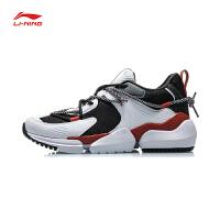 李宁CF系列休闲鞋男鞋2020新款凝聚FLOW耐磨男士鞋子低帮运动鞋AGLP161
