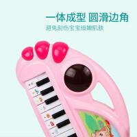 儿童电子琴初学者宝宝早教音乐玩具 0-1-2-3岁女孩婴幼儿小钢琴