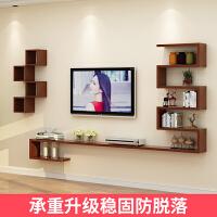 电视背景墙装饰架壁挂电视柜隔板创意架搁板墙上置物架客厅造型架