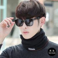 围脖男保暖韩版潮学生休闲套头帽加厚脖套骑行围巾面罩包头帽