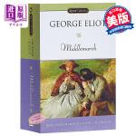 【中商原版】乔治艾略特:米德尔马契 英文原版 经典文学 Middlemarch George Eliot Signet