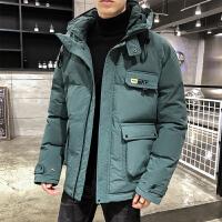 男士工装棉衣冬装男加厚韩版休闲棉袄保暖外套棉衣男