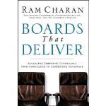 【预订】Boards That Deliver Advancing Corporate Governance From