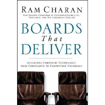 【预订】Boards That Deliver  Advancing Corporate Governance From Compliance to Competitive Advantage 预订商品,需要1-3个月发货,非质量问题不接受退换货。