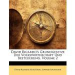 【预订】David Ricardo's Grundgesetze Der Volkswirthschaft Und B
