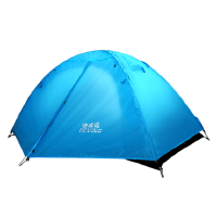 帐篷户外2人家用野外露营野营简易自驾游户外帐篷双人双层