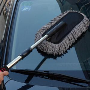 【爆品特惠 低至2.9折】御目 汽车蜡刷 可拆卸伸缩扁蜡刷清洁刷车掸除尘洗车用品