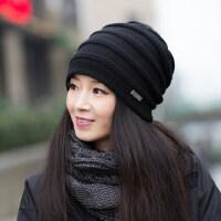 帽子女韩版潮休闲百搭加厚保暖女士针织帽毛线帽