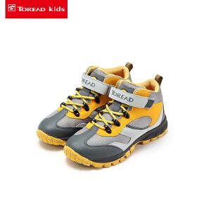 探路者童鞋 男童冬户外中帮登山鞋童鞋