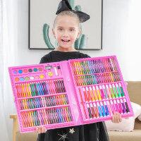 儿童画笔礼盒小学生水彩笔画画工具绘画套装美术文具用品生日礼物
